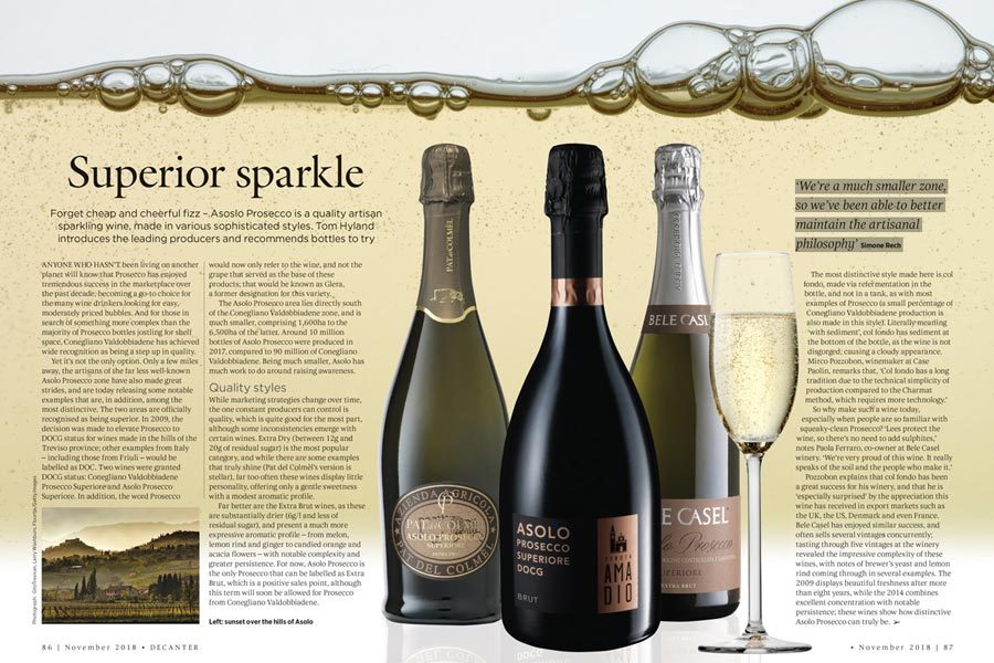 Decanter | Asolo Prosecco Doc