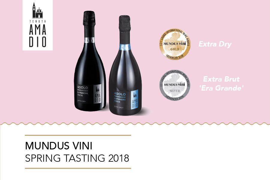 Concorso Mundus Vini 2018